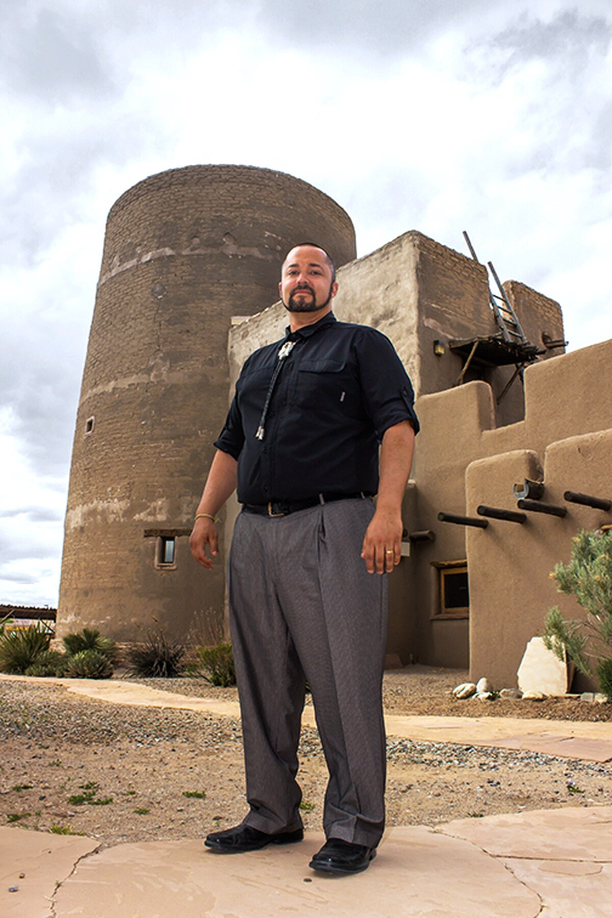 Gov. Joseph Talachy, a former Pojoaque Pueblo policeman, made it a priority to employ more tribal members at its casinos.