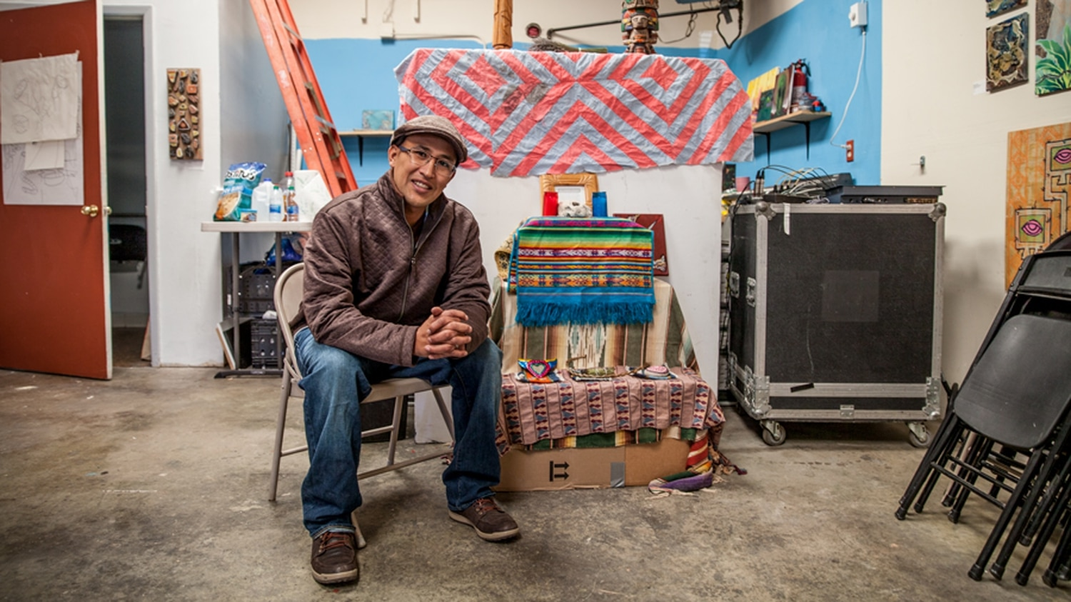 John Paul Granillo spent the entirety of his 20s in federal prison. Now he's an artist with a mind for community.