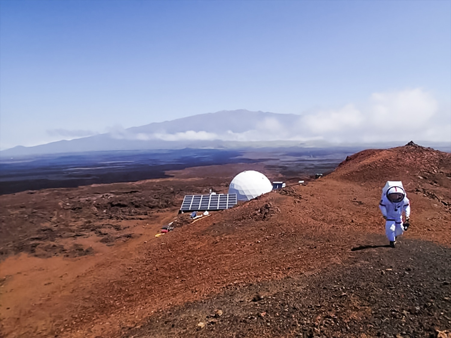 HI-SEAS is a Martian simulation on the slopes of the Mauna Loa volcano on the island of Hawaii.