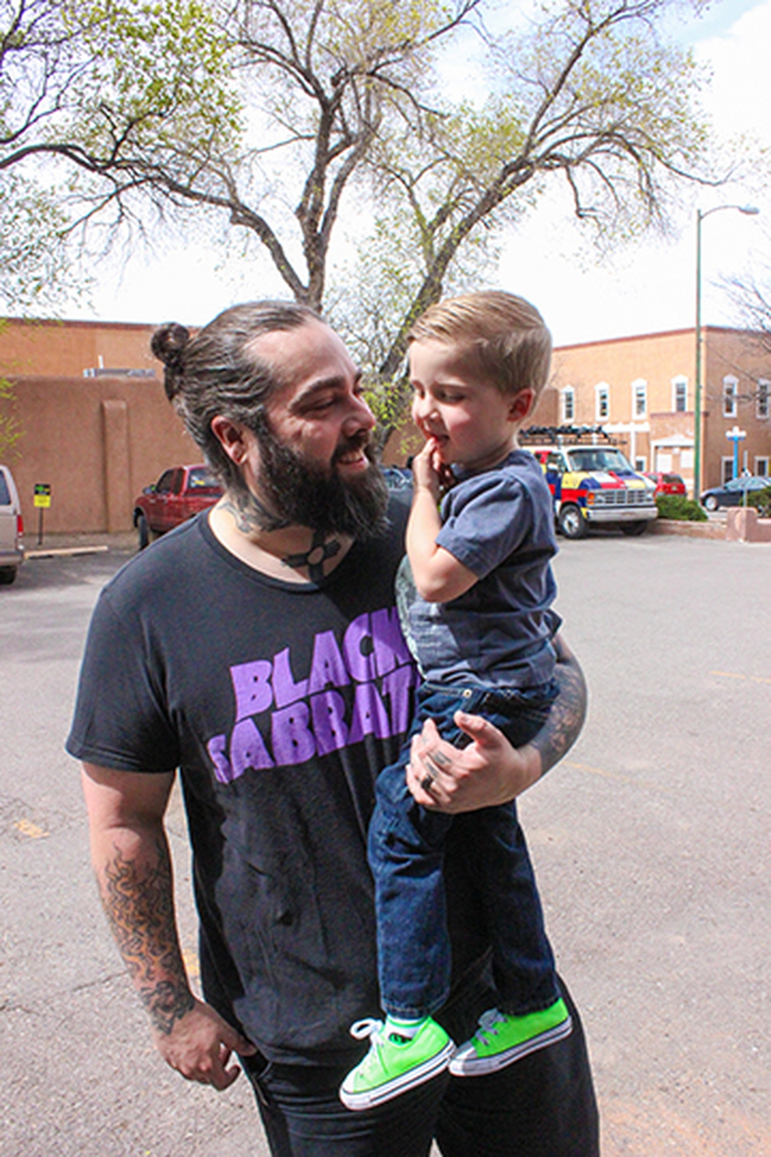 Local musician Pascual Romero says he'll share the New Mexican folk tradition with his son Felix.