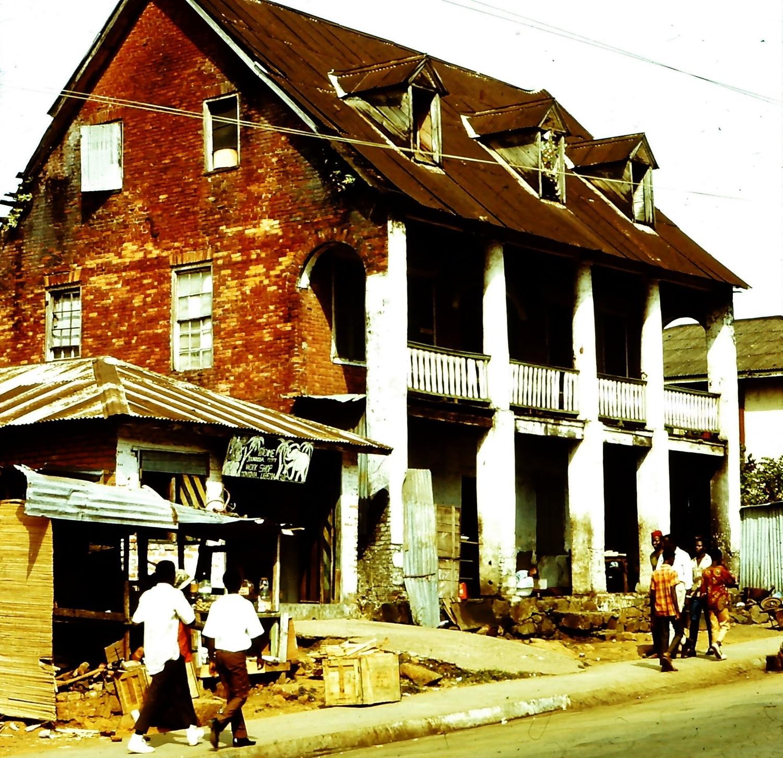 A house in Monrovia