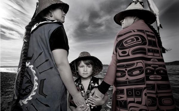 Darkfeather, Bibiana and Eckos Ancheta (Tulalip)