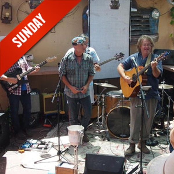 Gospel Brunch with Joe West West and his bunch play rock and folk covers with infectious energy while you drink a mimosa and eat pancakes. Yum. More Info>>