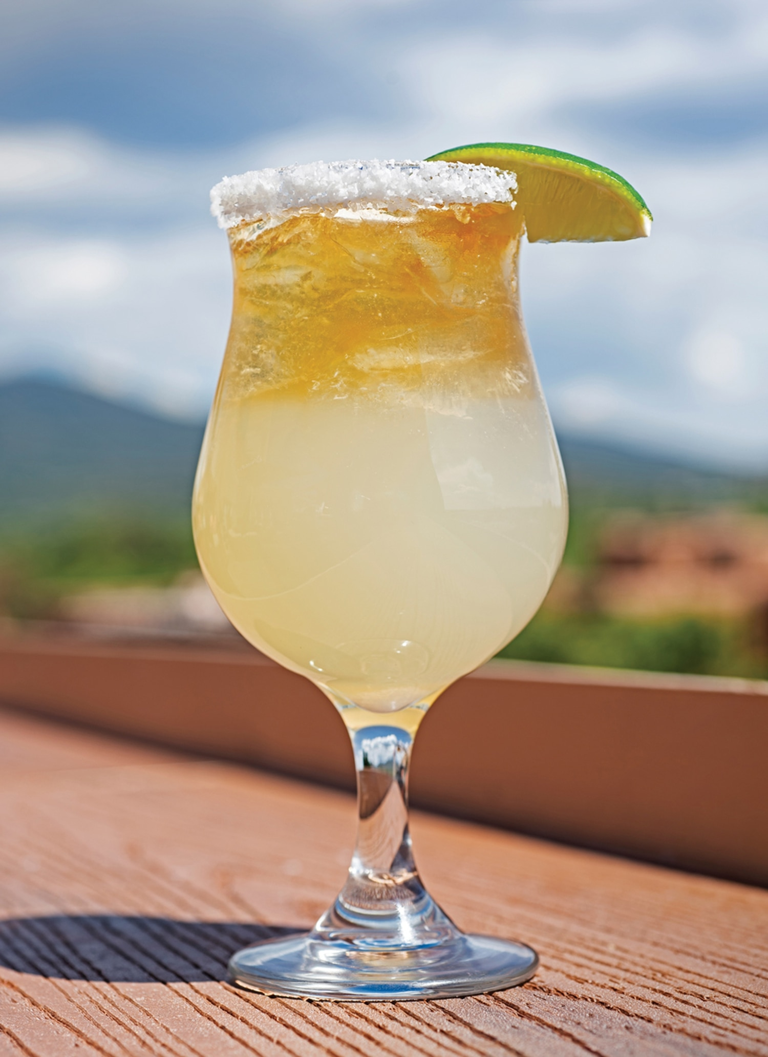 A margarita made with Don Julio Añejo tequila, Cointreau and Courvoisier VS cognac ($15)
