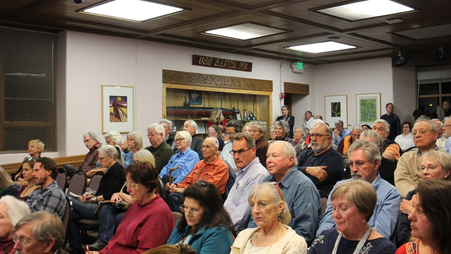 A full house gathered at Thursday's Planning Commission meeting to sound off about the proposed rule change.