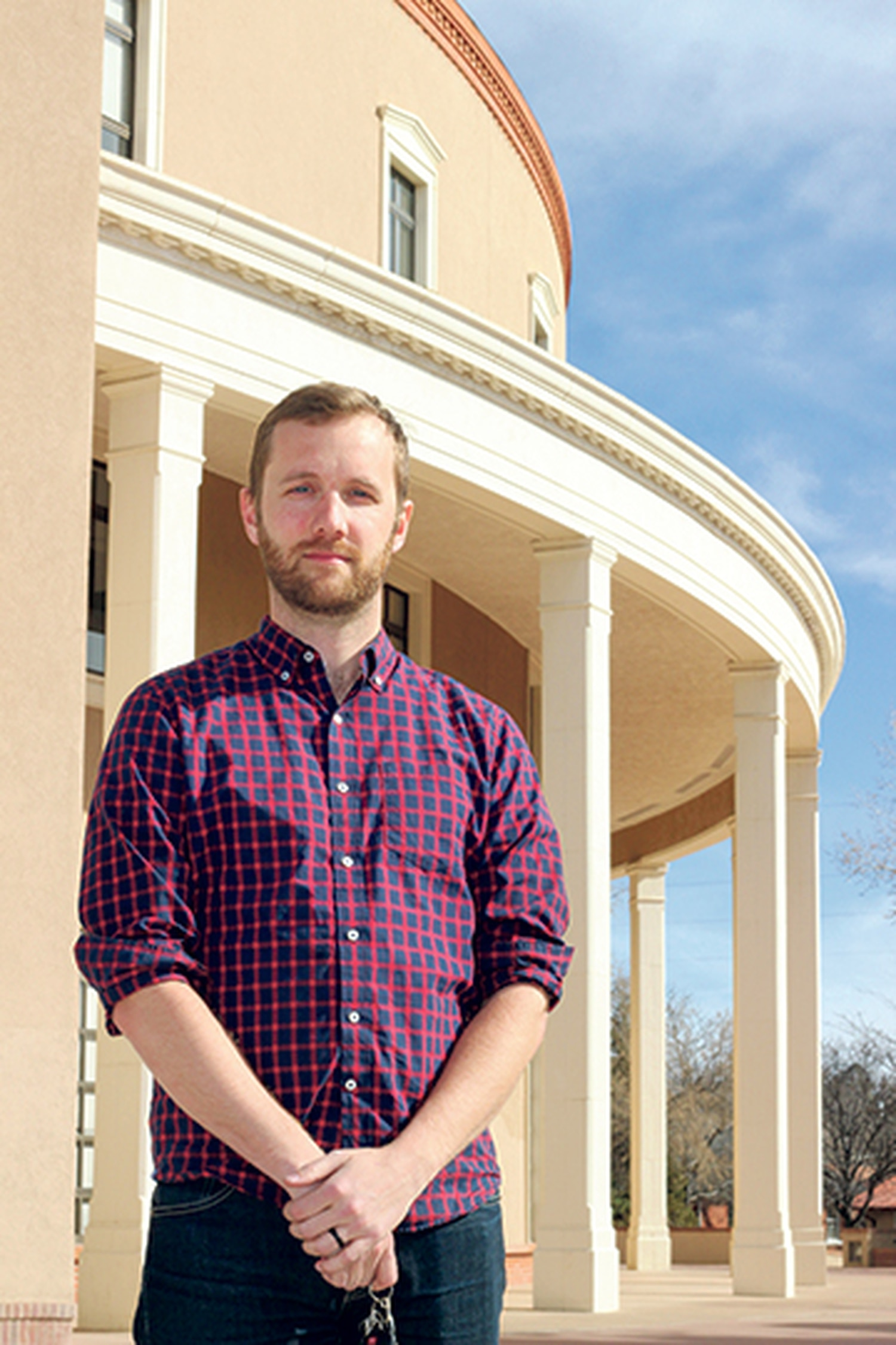 Ben Shelton, political and legislative director for Conservation Voters New Mexico, is among those arguing that New Mexico could and should produce more energy from renewable sources.