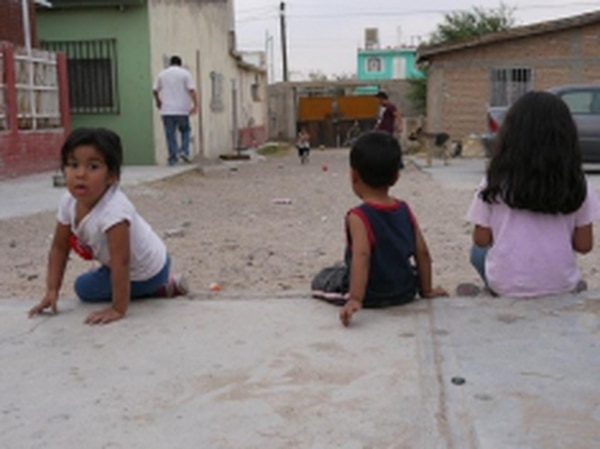 """In May, NPR reported that, according to the Children's Rights Institute, """"30,000 Mexicans under the age of 18 work for the cartels.""""Credits: Eric Maddox"""