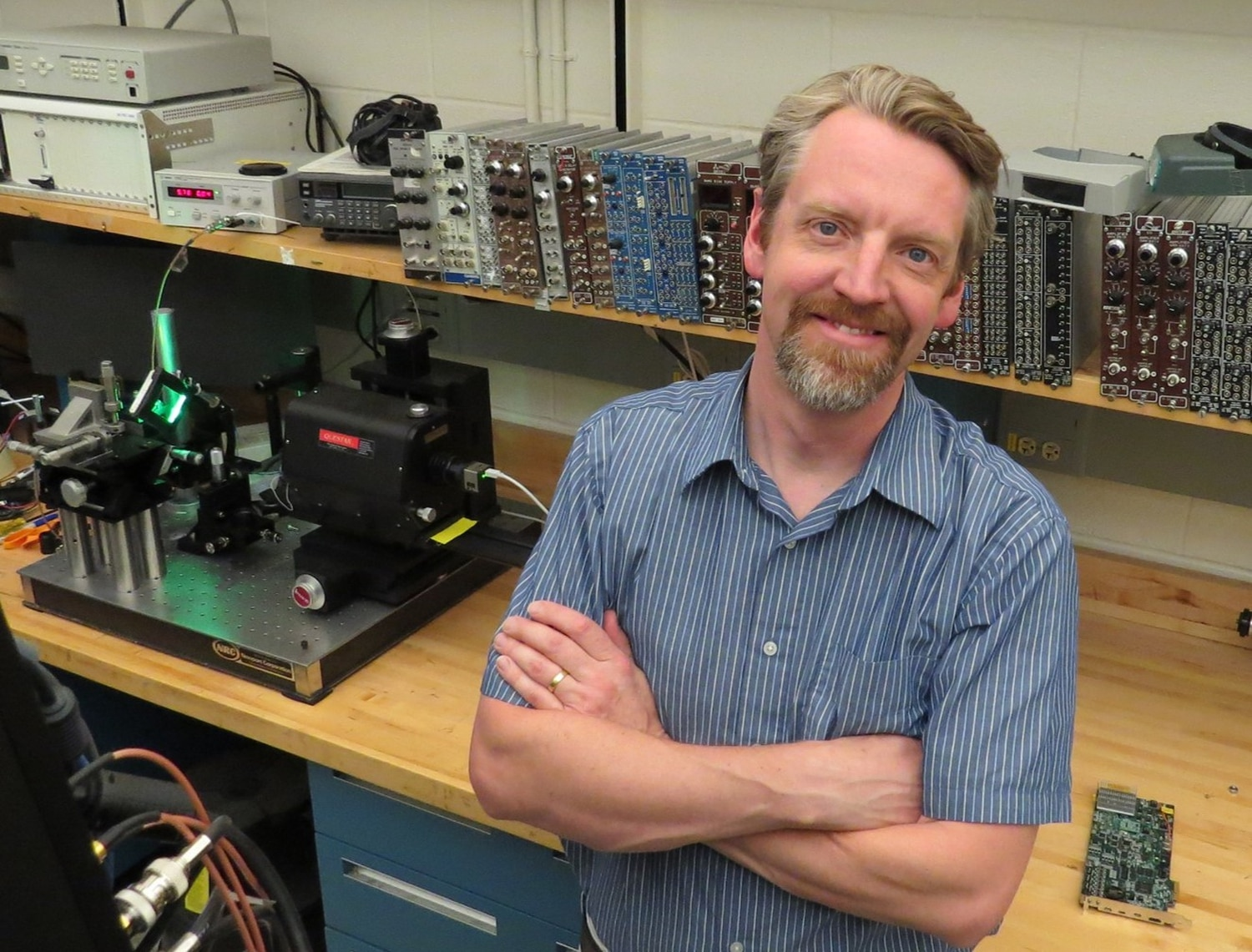Raymond Newell is a scientist at Los Alamos National Laboratory.