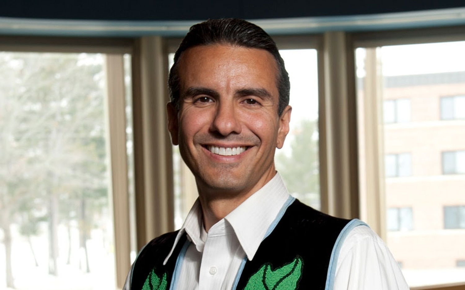 Anton Treuer leads the Ojibwe language revitalization efforts at Bemidji State University and helps other programs across Minnesota.