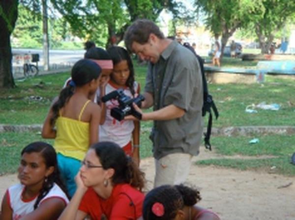Here, students film Alto do Céu in Recife, Brazil. Credits: Rita de Cácia Oenning da Silva