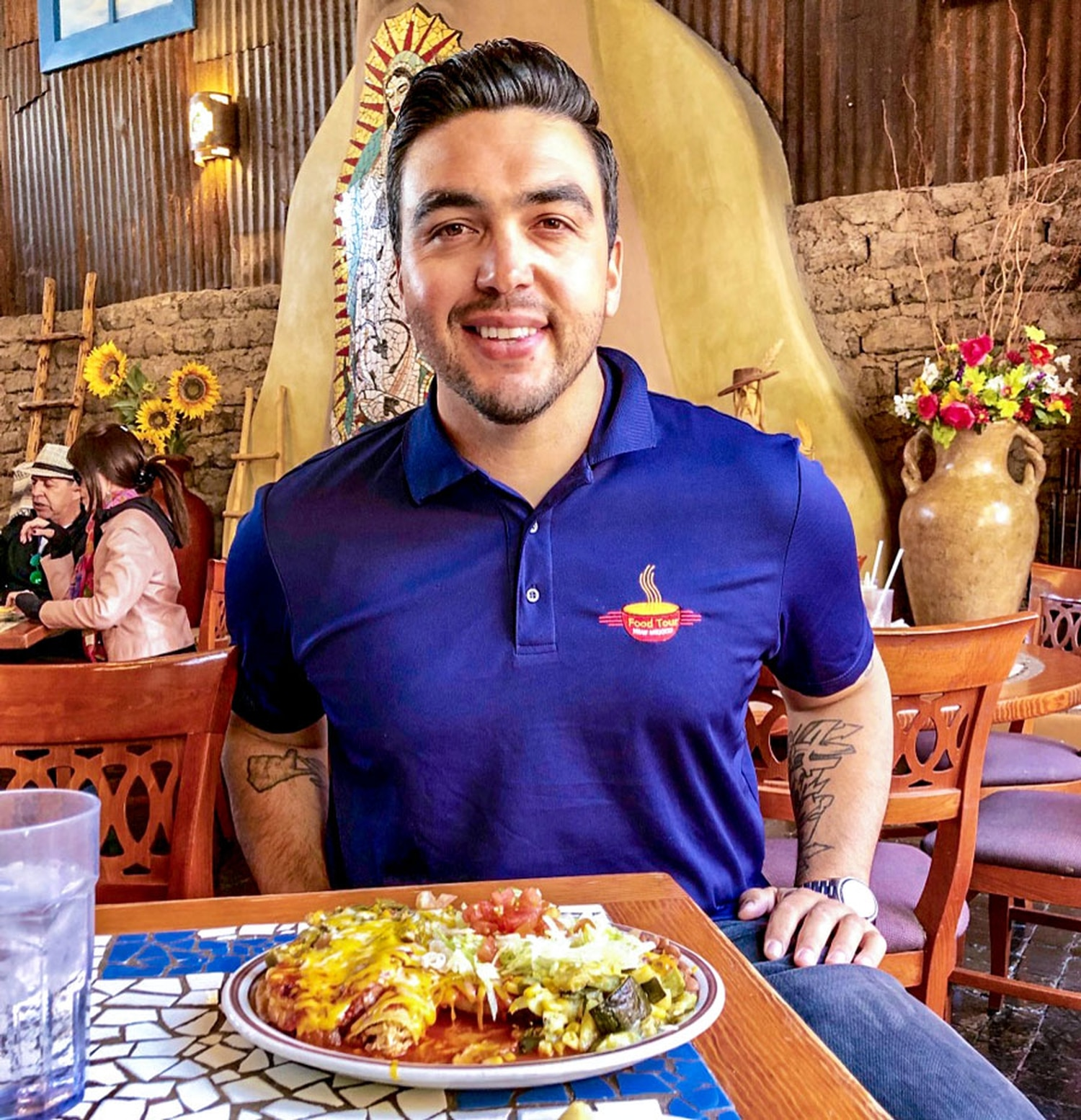 Nick Peña loves food more than you do, but he's willing to share.