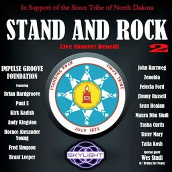 Stand and Rock 2 John Kurzweg, Brian Hardgroove, Talia Kosh, Felecia Ford, Jamie Russell and tons of other local musicians come together to raise money for the Water Protector Legal Collective. No cover, but donate what you can! More Info>>