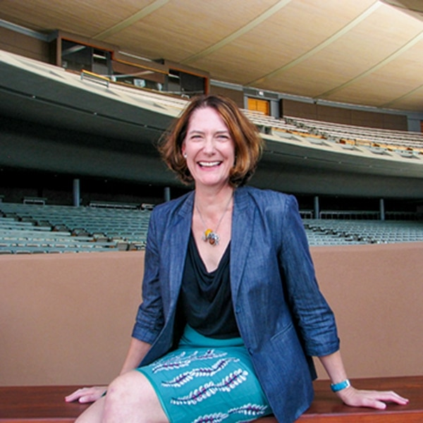 Andrea Fellows Walters, Santa Fe Opera's director of education and community engagement, spearheads interdisciplinary programming for the new Tech and the West initiative.