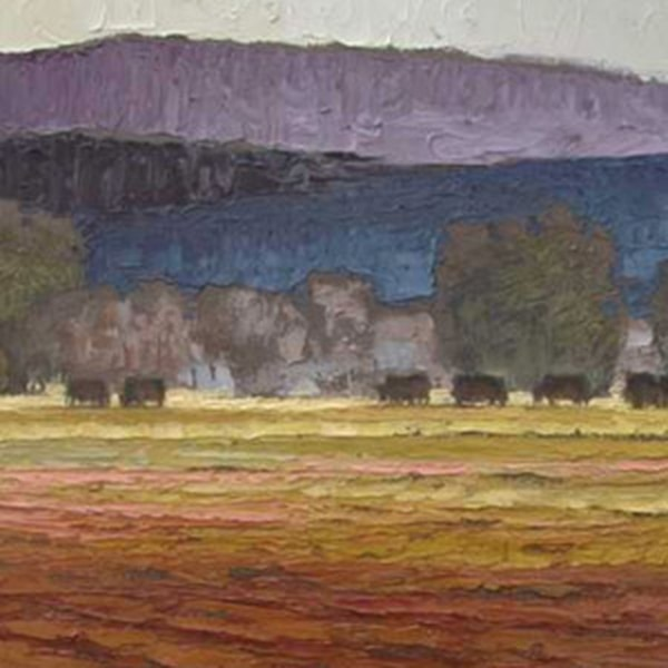 Jeff Cochran Cochran is best known for his portrait paintings of chimpanzees, so much so that he once had dinner with Jane Goodall. The Taos-based painter presents his newest oil on linen paintings of the landscapes around his home. Through Sept. 30. MoreInfo>>