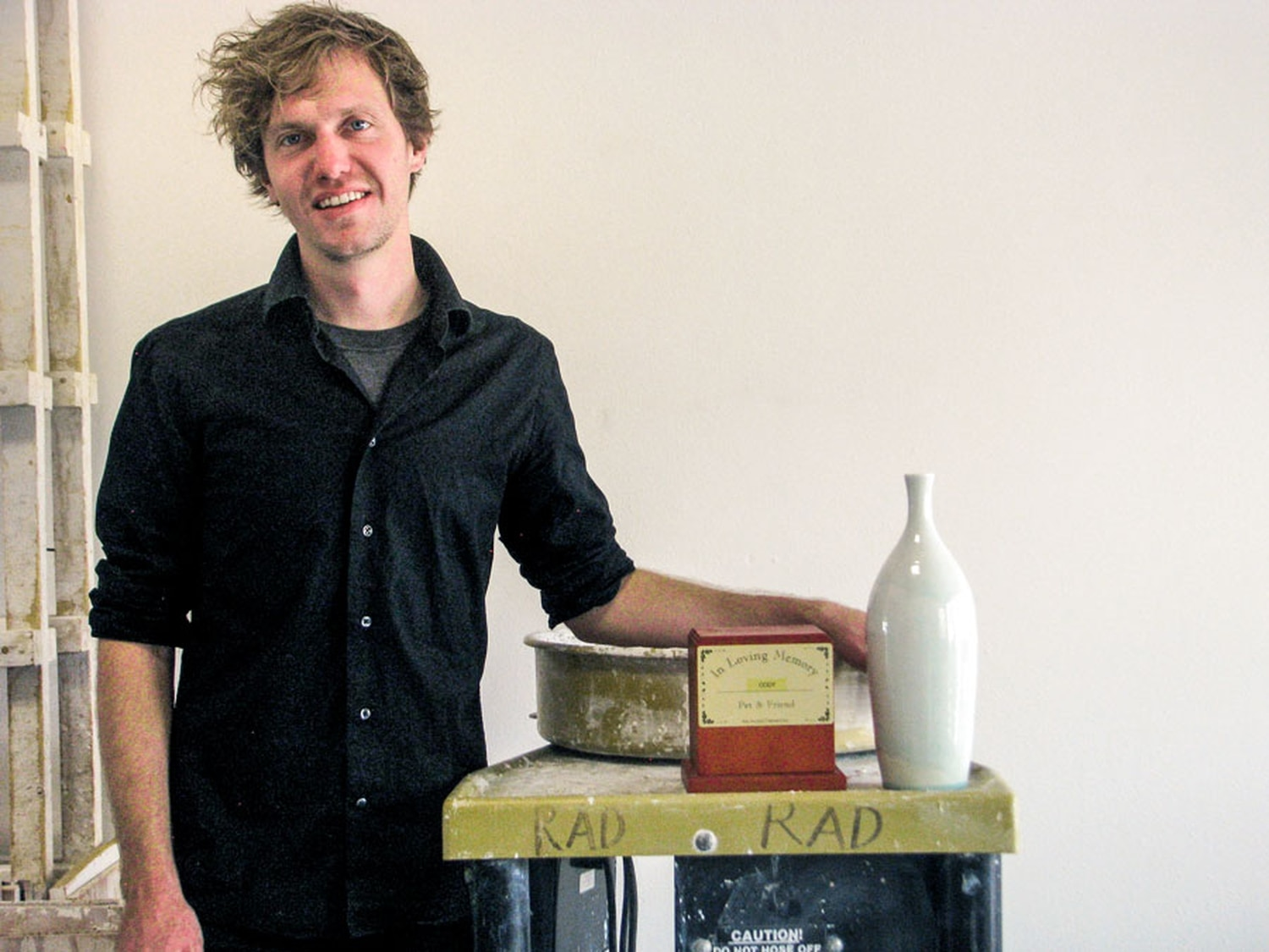Parting Stone founder Justin Crowe has set out to revolutionize the cremation industry.