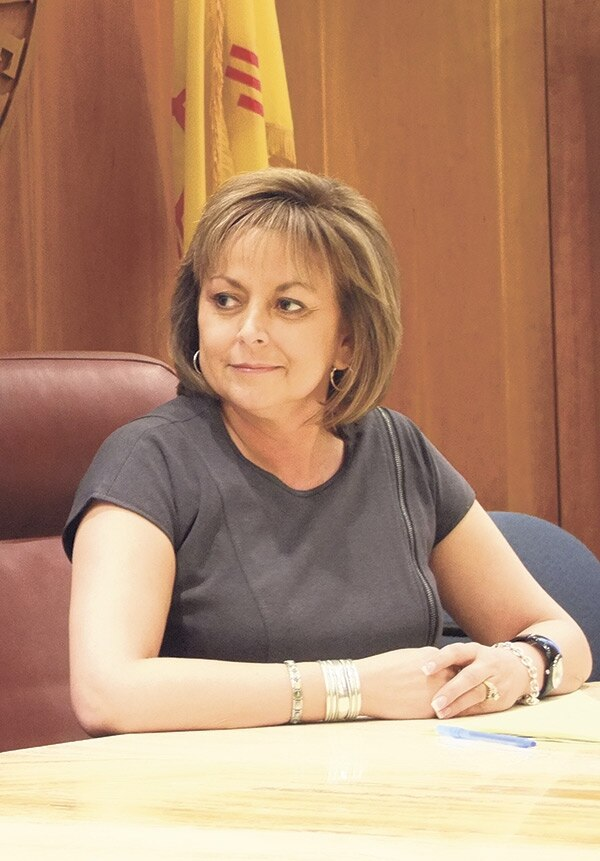 Gov. Susana Martinez has granted far fewer pardons than her predecessors did in their first two years.