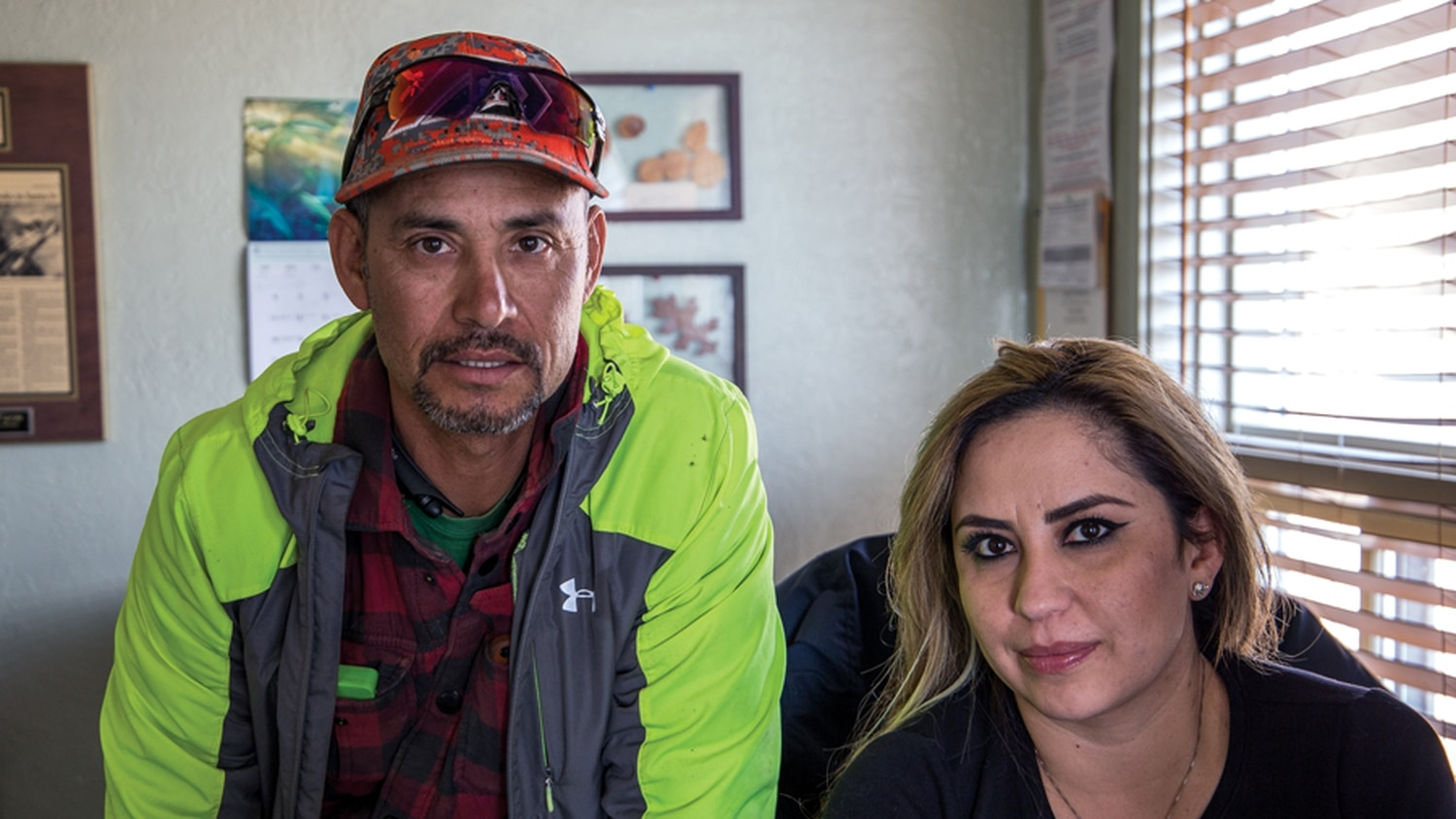 ICE agents visited Chevo Serna, owner of the Santa Fe Tree Farm, and secretary Bianca Herrera as part of a statewide enforcement effort. On their first visit, agents lied about who they were.