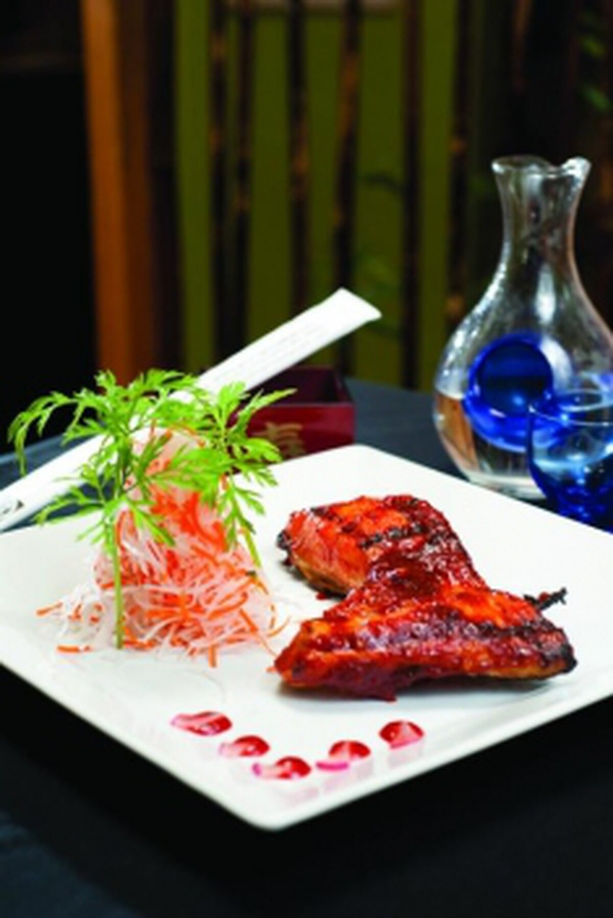 Spicy sake kama Photo: Joy Godfrey