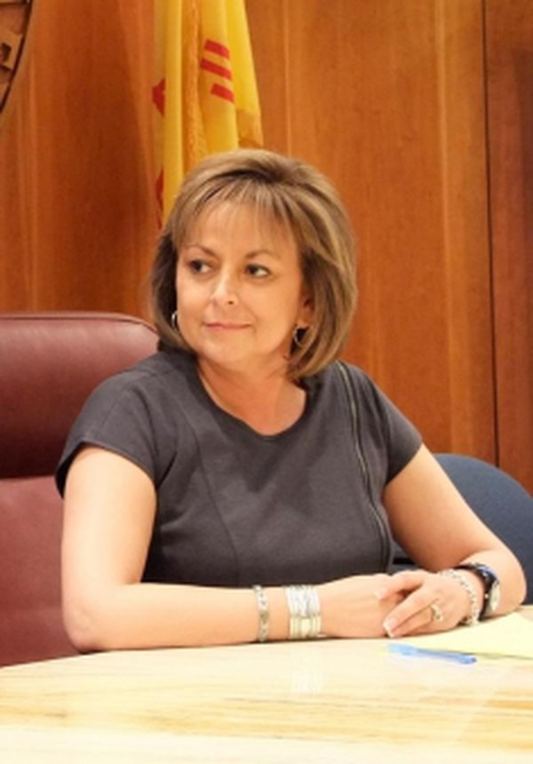 Republican Gov. Susana Martinez has spoken in favor of an independent redistricting commission, but lawmakers are skeptical about creating one in time for 2011 redistricting.Credits: Alexa Schirtzinger