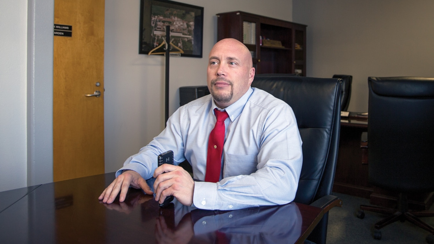 Derek Williams, warden at the Santa Fe County jail, says a lack of resources led him to shut down the housing unit for for inmates transitioning from solitary units to general population.