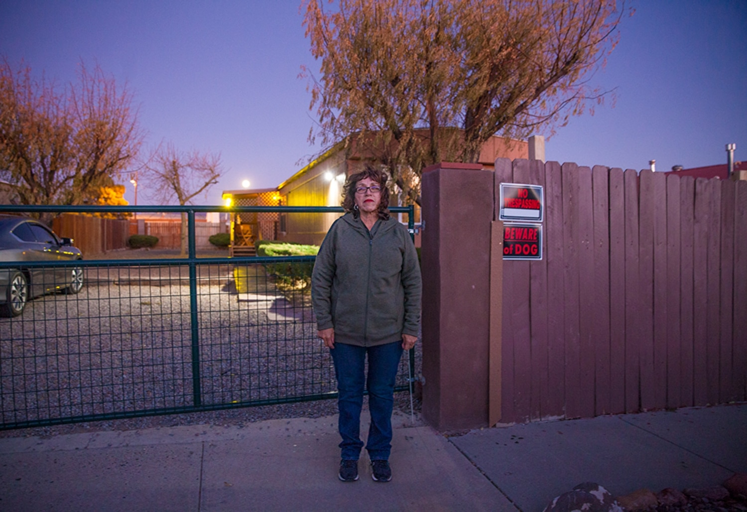 Helen Chavez lives in a mobile home park right off of Airport Road and hopes the city will help bring in more services for the area.