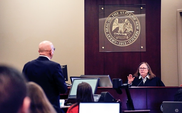 Judge Sarah Singleton tells the governor's private attorney to slow his roll.